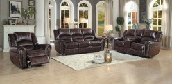 Center Hill 2pc Dark Brown Sofa & Loveseat Set Available Online in Dallas Fort Worth Texas