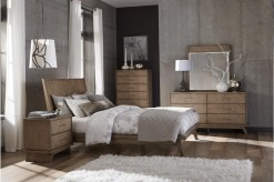 Liatris 5pc Queen Platform Bedroom Group Available Online in Dallas Fort Worth Texas