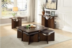 Akita 3pc Cherry Coffee Table Set Available Online in Dallas Fort Worth Texas