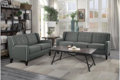 Homelegance Roweena 2pc Dark Gr... Available Online in Dallas Fort Worth Texas