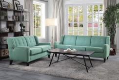 Homelegance Roweena 2pc Teal So... Available Online in Dallas Fort Worth Texas