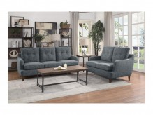 Homelegance Cagle 2pc Grey Sofa... Available Online in Dallas Fort Worth Texas