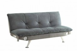Coaster Bluetooth Grey Sofa Bed Available Online in Dallas Fort Worth Texas
