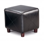 Coaster San Martin Black Ottoman Available Online in Dallas Fort Worth Texas