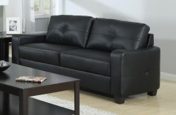 Coaster Jasmine Black Sofa Available Online in Dallas Fort Worth Texas