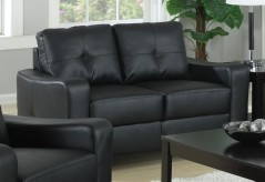 Jasmine Black Loveseat Available Online in Dallas Fort Worth Texas