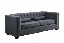 Coaster Cairns Charcoal Sofa Available Online in Dallas Fort Worth Texas
