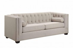 Coaster Cairns Oatmeal Sofa Available Online in Dallas Fort Worth Texas