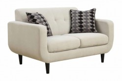 Stansall Ivory Loveseat Available Online in Dallas Fort Worth Texas