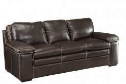 Regalvale Brown Leather Sofa Available Online in Dallas Texas