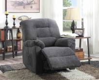 Coaster Mackenzie Charcoal Power Lift Recliner Available Online in Dallas Fort Worth Texas