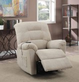 Coaster Mackenzie Taupe Power Lift Recliner Available Online in Dallas Fort Worth Texas