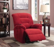 Coaster Georgia Red Power Lift Recliner Available Online in Dallas Fort Worth Texas