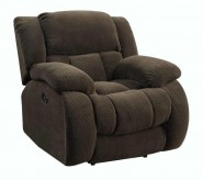 Coaster Weissman Brown Glider Recliner Available Online in Dallas Fort Worth Texas