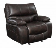 Coaster Willemse Chocolate Glider Recliner Available Online in Dallas Fort Worth Texas