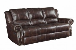 Coaster Sir Rawlinson Leather Reclining Sofa Available Online in Dallas Fort Worth Texas