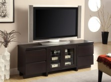 Coaster Brandy Cappuccino TV Co... Available Online in Dallas Fort Worth Texas