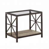 Coaster Avondale Rustic End Table Available Online in Dallas Fort Worth Texas