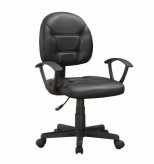 Coaster Stanely Black Office Chair Available Online in Dallas Fort Worth Texas