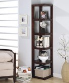 Coaster Modern Corner Bookcase Available Online in Dallas Fort Worth Texas