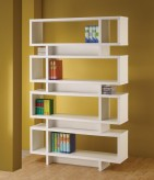 Brandy White Open Bookcase Available Online in Dallas Fort Worth Texas