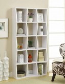Coaster Bookcases White Color Bookshelf Available Online in Dallas Fort Worth Texas