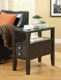 Coaster Rhea Chairside Table Available Online in Dallas Fort Worth Texas