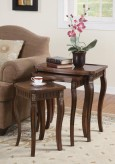 Coaster Dark Brown 3pc Nesting Table Available Online in Dallas Fort Worth Texas