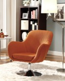 Coaster Samba Orange Swivel Chair Available Online in Dallas Fort Worth Texas