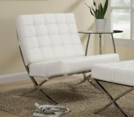 Coaster Samba White Accent Chair Available Online in Dallas Fort Worth Texas