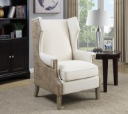 Coaster Martin Cream & Beige Ch... Available Online in Dallas Fort Worth Texas