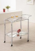 Coaster Kitchen Carts Chrome Mi... Available Online in Dallas Fort Worth Texas