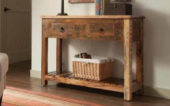 Reclaimed Sofa Table Available Online in Dallas Fort Worth Texas
