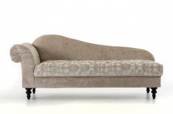 VIG Divani Casa Metropolitan Beige Fabric Chaise Available Online in Dallas Fort Worth Texas