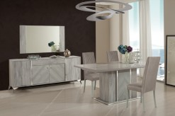Nova Domus Alexa Grey Dining Table Set Available Online in Dallas Fort Worth Texas