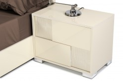 Ancona Beige Nightstand Available Online in Dallas Fort Worth Texas