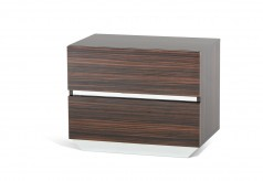 Luxor Ebony Nightstand Available Online in Dallas Fort Worth Texas