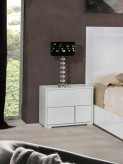 Nicla White Nightstand Available Online in Dallas Fort Worth Texas