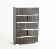 Picasso Grey Lacquer Chest Available Online in Dallas Fort Worth Texas