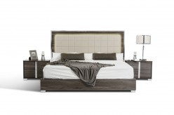 San Marino Grey Bed Available Online in Dallas Fort Worth Texas