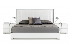 San Marino White Bed Available Online in Dallas Fort Worth Texas