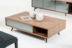 VIG Kennedy Walnut Coffee Table Available Online in Dallas Fort Worth Texas