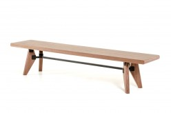 VIG Kennedy Walnut Dining Bench Available Online in Dallas Fort Worth Texas