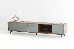 VIG Kennedy Walnut TV Stand Available Online in Dallas Fort Worth Texas
