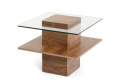 VIG Clarion Walnut And Glass En... Available Online in Dallas Fort Worth Texas