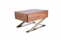 Canton Walnut Nightstand Available Online in Dallas Fort Worth Texas