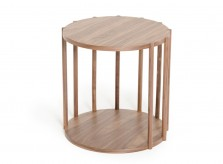 VIG Lark Walnut End Table Available Online in Dallas Fort Worth Texas