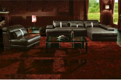 VIG Boston Leather Sectional Sofa Available Online in Dallas Fort Worth Texas