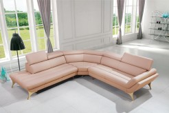 VIG Divani Casa Pink Leather Se... Available Online in Dallas Fort Worth Texas