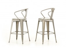 VIG Ned Steel Bar Stool Available Online in Dallas Fort Worth Texas